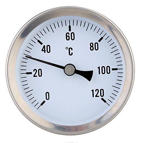 Anlegethermometer Thermometer Bimetall 0 Bis 120 ° C