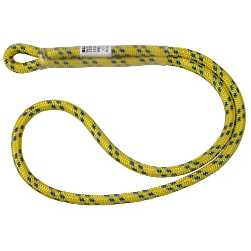 Bluewater Ropes 8mm Dynamic Sewn Prusik Loop Yellow 18