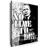 Myartstyle - Bilder James Bond 60 x 40 cm Leinwand