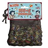 100 + 2 grande borsa di vetro Marmi...