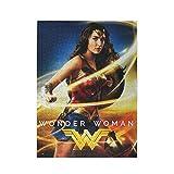 Puzzle de imagen personalizada Wonder Woman Puzzles para adultos, adolescentes, niños, niñas, blanco, 500 unidades