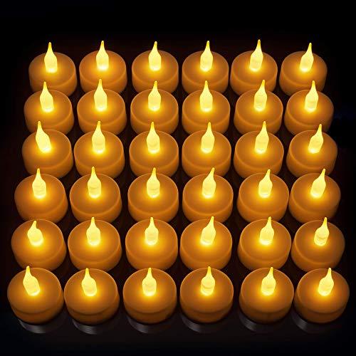 Stunning Flameless LED Tea Light Candles