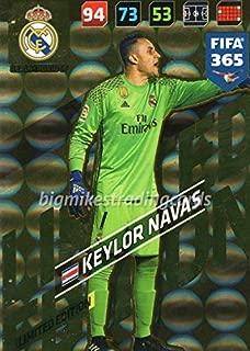 FIFA 365 2018 - KEYLOR NAVAS LIMITED EDITION CARD, PANINI ADRENAYLN XL FC BARCELONA
