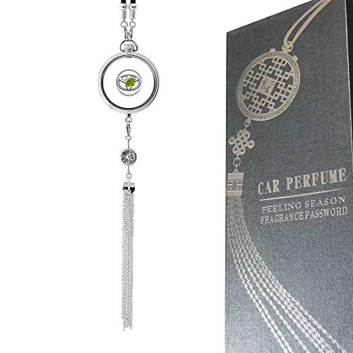Car Logo Perfume Air Freshener Rearview Mirror Perfume Hanging Decoration Car Aromatherapy Diffuser Remove Odor Car Decoration Accessories Gift Box Packaging (T-oyota)