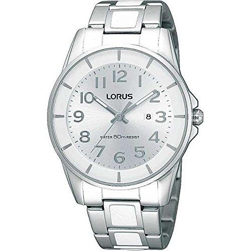 LORUS Reloj Analógico para Mujer de Cuarzo con Correa en Acero Inoxidable 4894138313431