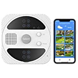 Orbecco Smart Lawn Sprinkler Controller, Smart WiFi 8 Zone Outdoor Wireless Irrigation Controller, Weather Intelligence, Compatible with Alexa, Google Assistant, Siri Shortcuts