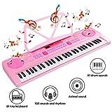 Immagine 1 wostoo tastiera elettronica pianoforte a