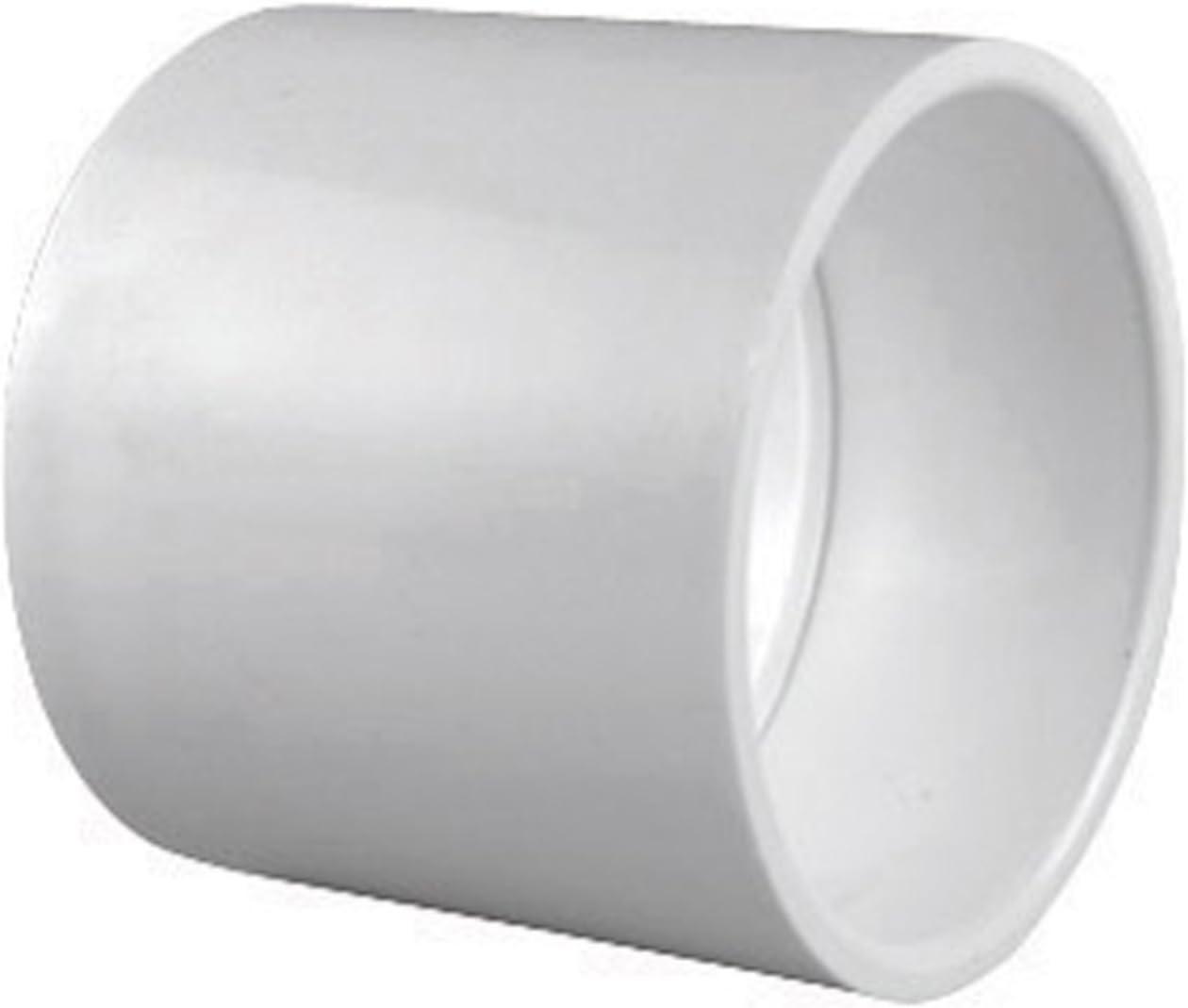 Schedule 40 PVC Pipe Slip x Slip Coupling (1 1/4