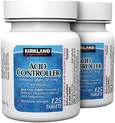 Kirkland Signature Acid Controller 20mg, 250 Count Tablets