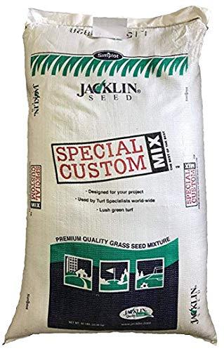 Jacklin Seed - Contractor s Mixture - 50% Kentucky Bluegrass, 40% Creeping Red Fescue, 10% Perennial Ryegrass   Certified Grass Seed (50 lbs (10,000 sq ft))