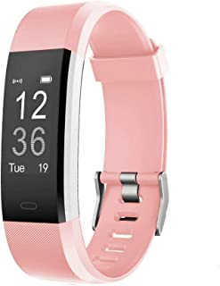 LETSCOM Fitness Tracker HR, Activity Tracker Watch with Heart Rate Monitor, IP67 Waterproof Smart Bracelet with Step Count...