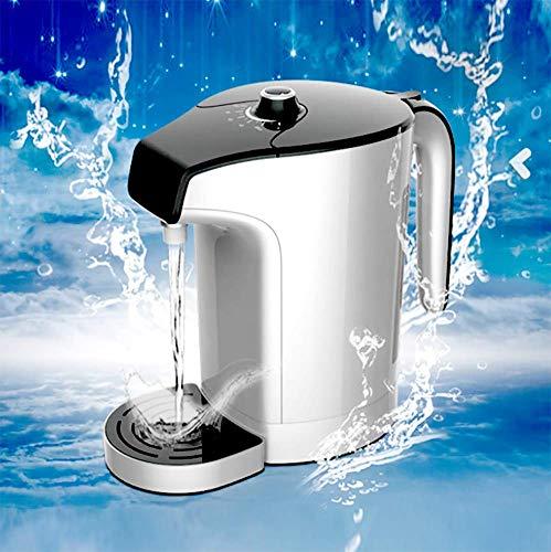 Leilims Wasserstoffreichem Wasser-Topf Tragbare ionisiertes Wasser Generator 5-Min Gesunden Wasser-Hersteller und Filteranlage, Anti-Aging, Energie, Sport, mit SPE Technologie, 3.0L (Color : White)