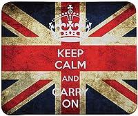マウスパッドを冷静に保ち、レトロスタイルの英国旗マウスパッド(TM)