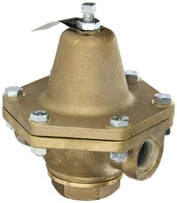 "Cash Valve 1874-0023 Bronze Pressure Regulator, 10 - 35 PSI Pressure Range, 3/4"" NPT Female by Tyco Valves & Controls"