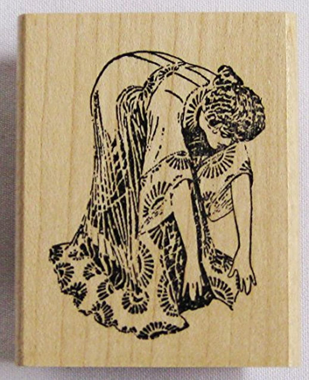 Nature's Blessings Fine Art Stamps, Woman Exercising 2