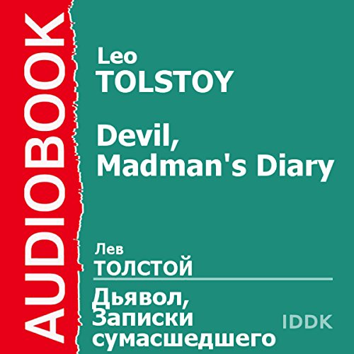 'The Devil' and 'The Diary of a Madman' [Russian Edition] audiobook cover art