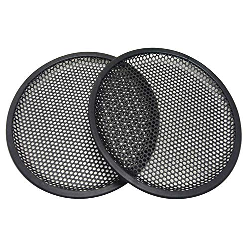 MeterMall Auto For 2PCS Car Audio Speaker SubWoofer Grille Guard Protector Cover 8 inches