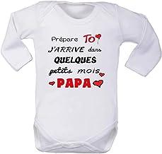 Jai Trouv/é Mon Prince son nom est Papa/ / /personnalis/é b/éb/é /à manches longues gilets bodies b/éb/é Grandit/ /Blanc/ /& gar/çons, filles /Mixte