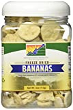 Mother Earth Products Freeze Dried Bananas, Quart Jar,4 Oz...