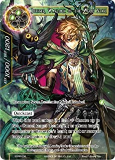 Force of Will - Jupiter, Warlock of The Wood Star - SDR6-006 - SR - Starter Deck: The Lost Tomes