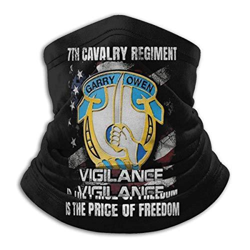 Overlooked Shop Pasamontañas La vigilancia del séptimo Regimiento de caballería es el Precio de la Libertad, Cubierta para el Rostro, Polaina para el Cuello, pasamontañas Multifuncional