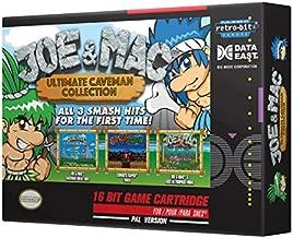 Retro-Bit Europe Joe and Mac Ultimate Caveman Collection PAL Version SNES Cartridge for Super NES (Nintendo Super NES)