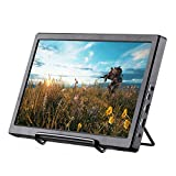 Basense 11.6 Inch 1920X1080 FHD IPS Portable Gaming Monitor with Double HDMI USB(5v) Powered for Raspberry Pi PS3/P34/XBOX ONE S & Home Security System Built-in Speaker