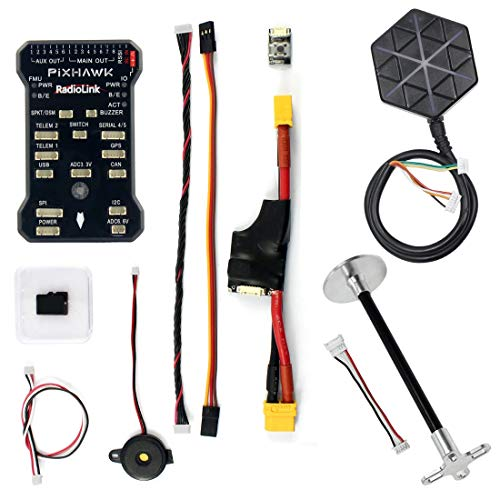 Radiolink PIX 32Bit 4G Flight Controller & M8N GPS Combo Set for AT9/AT10 Remote Controller OSD DIY RC Multicopter