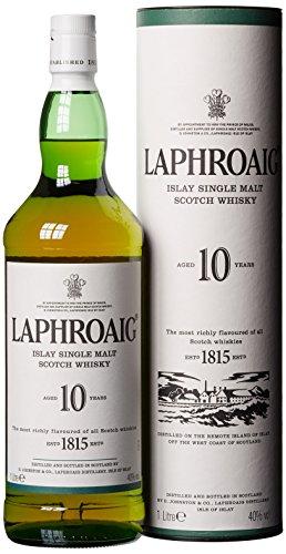 Laphroaig 10 YO 40% Single Malt Whisky (1 x 1 l)