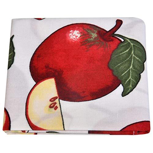 ultiMade - trendige Stofftaschentücher Herren Baumwolle Damen Stofftaschentuch Einstecktücher Einstecktuch - Design Äpfel