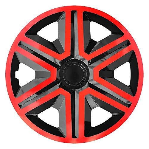 CM Design Action - Reloj de pulsera para Volkswagen Polo 9N, color rojo y negro