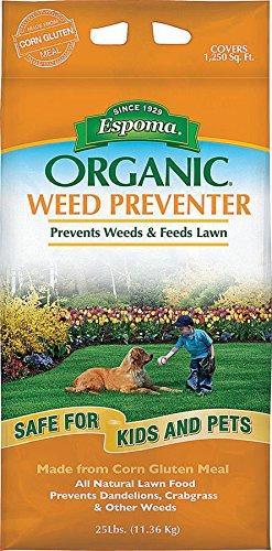 Espoma Organic Weed Preventer-25 lb. CGP25, 25 lb.