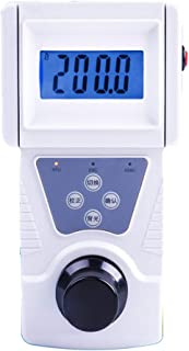 NEWTRY Digital Water Turbidity Meter Portable Handheld Turbidimeter 0~200 NTU, ISO7027 Compliant, 90° Scattered Light Accuracy 0.1 with Backlight (110V, SGZ-200BS)