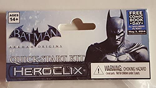precios mas bajos Batman Arkham Arkham Arkham Origins Heroclix Quick-start Kit by HeroClix  disfruta ahorrando 30-50% de descuento