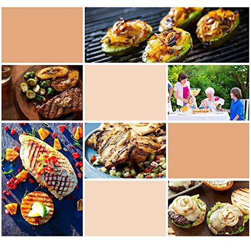 51bjhTO4qNL. SL500  - Grills Kochplatten Barbecue verdickte Garten Holzkohle-Rack Runde Barrel Herd Aussen tragbare Mini- Grillzubehör (Color : Red)