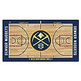 FANMATS NBA Denver Nuggets - Corredor de la NBA de Nailon para la Corte de la NBA (Talla pequeña)
