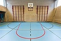 APAN10x7ft屋内バスケットボールコート背景インテリアジムバスケットボールの遊び場写真の背景NBAテーマスポーツパーティーキッドマンスポーツクラブマン学生芸術ポートレート写真撮影の小道具