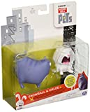 The Secret Life of Pets Movie Snowball and Chloe Figures