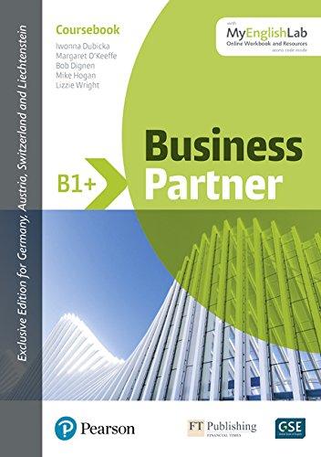 Business Partner B1+ Coursebook w/ MyEnglishLab, Online Workbook and Resources (ELT Business & Vocational English)