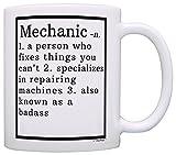 Auto Mechanic Gifts Mechanic Definition Gifts for Mechanics Diesel Mechanic Gifts Mechanic Gift Coffee Mug Tea Cup White