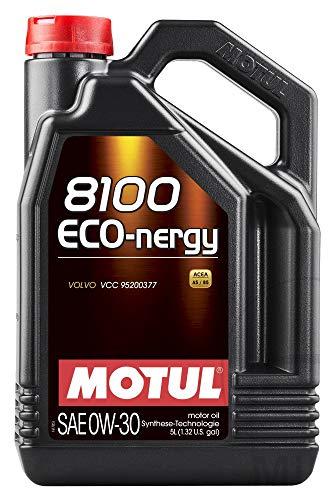 Motul 8100 Eco-nergy 0W30 volledig synthetische motorolie Volvo VCC95200377, 5 liter