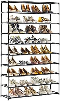 Techmilly 10 Tiers Shoe Organizer
