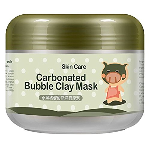 Carbonated Bubble Clay Mask Moist Deep Pore Cleansing Bubbles Mud Mask 3.52 oz