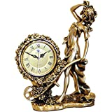 Unbne Seora Justicia, Decorativo Diosa Griega Seora de la Justicia escultural Reloj...
