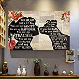 Niedliches Schild Pitbull Girl You Are My Best Friend By