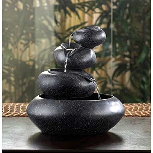 Four-Tier Bowls Tabletop Indoor Water Fountain