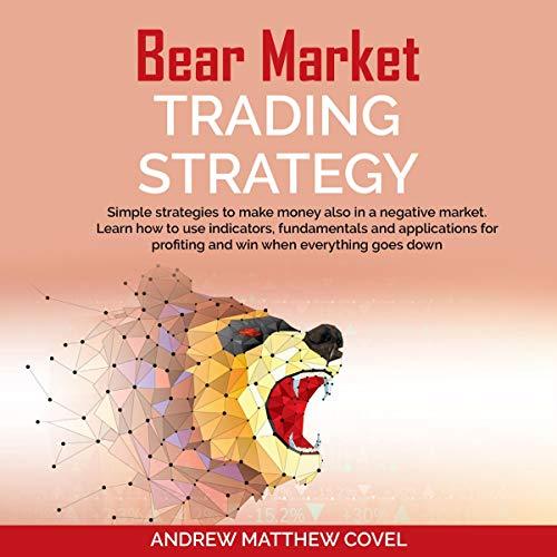 Bear Market Trading Strategy audiobook cover art