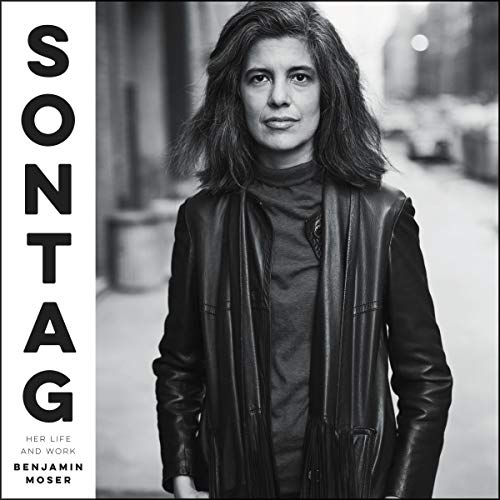 Sontag audiobook cover art