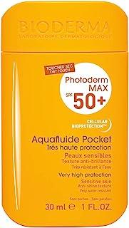 Bioderma Photoderm MAX Aquafluide SPF 50+ Dry Touch Mat Finish Travel Pocket Sunscreen, 30ml