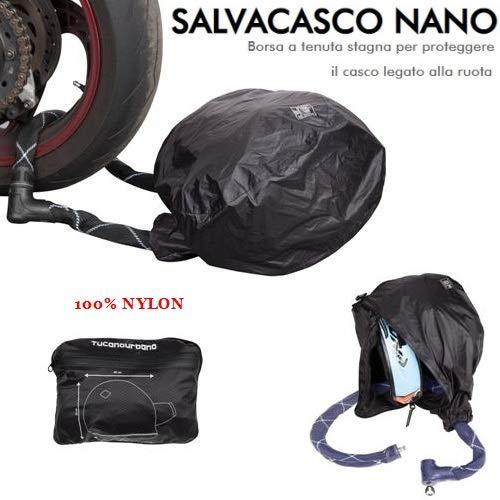 Tucano Urbano 488 fietstas van nylon, 100% zwart, eenheidsmaat ter bescherming van de motorfiets